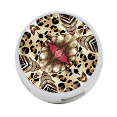 Animal Tissue And Flowers 4 Port Usb Hub (two Sides)  by Amaryn4rt