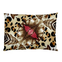 Animal Tissue And Flowers Pillow Case (two Sides) by Amaryn4rt