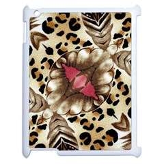 Animal Tissue And Flowers Apple Ipad 2 Case (white) by Amaryn4rt