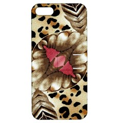 Animal Tissue And Flowers Apple Iphone 5 Hardshell Case With Stand by Amaryn4rt
