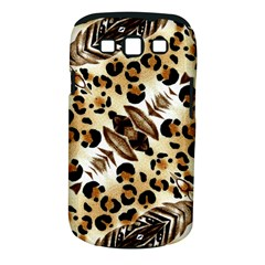 Background Fabric Animal Motifs And Flowers Samsung Galaxy S Iii Classic Hardshell Case (pc+silicone) by Amaryn4rt