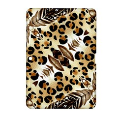 Background Fabric Animal Motifs And Flowers Samsung Galaxy Tab 2 (10 1 ) P5100 Hardshell Case  by Amaryn4rt