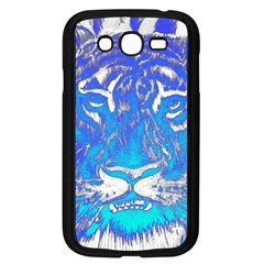 Background Fabric With Tiger Head Pattern Samsung Galaxy Grand Duos I9082 Case (black) by Amaryn4rt