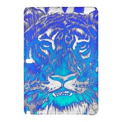 Background Fabric With Tiger Head Pattern Samsung Galaxy Tab Pro 10 1 Hardshell Case by Amaryn4rt