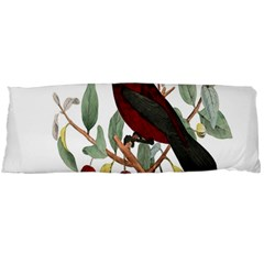 Bird On Branch Illustration Body Pillow Case (dakimakura) by Amaryn4rt