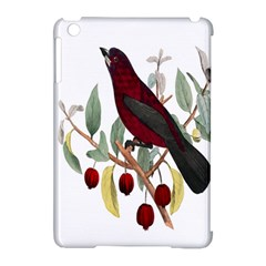 Bird On Branch Illustration Apple Ipad Mini Hardshell Case (compatible With Smart Cover) by Amaryn4rt