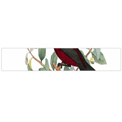 Bird On Branch Illustration Flano Scarf (large) by Amaryn4rt