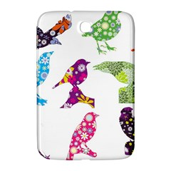 Birds Colorful Floral Funky Samsung Galaxy Note 8 0 N5100 Hardshell Case  by Amaryn4rt