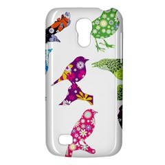 Birds Colorful Floral Funky Galaxy S4 Mini by Amaryn4rt