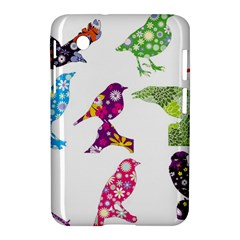 Birds Colorful Floral Funky Samsung Galaxy Tab 2 (7 ) P3100 Hardshell Case  by Amaryn4rt