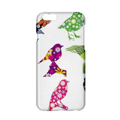 Birds Colorful Floral Funky Apple Iphone 6/6s Hardshell Case by Amaryn4rt