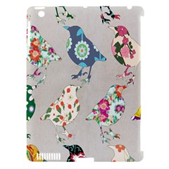 Birds Floral Pattern Wallpaper Apple Ipad 3/4 Hardshell Case (compatible With Smart Cover) by Amaryn4rt