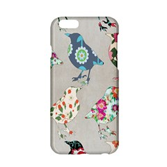 Birds Floral Pattern Wallpaper Apple Iphone 6/6s Hardshell Case