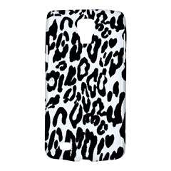 Black And White Leopard Skin Galaxy S4 Active by Amaryn4rt