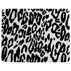 Black And White Leopard Skin Jigsaw Puzzle Photo Stand (rectangular) by Amaryn4rt