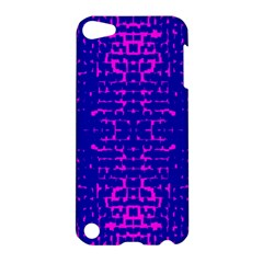 Blue And Pink Pixel Pattern Apple Ipod Touch 5 Hardshell Case by Amaryn4rt