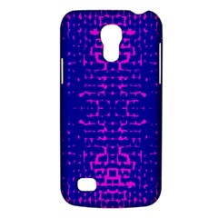 Blue And Pink Pixel Pattern Galaxy S4 Mini by Amaryn4rt