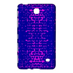 Blue And Pink Pixel Pattern Samsung Galaxy Tab 4 (7 ) Hardshell Case  by Amaryn4rt