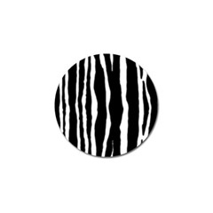 Zebra Background Pattern Golf Ball Marker (10 Pack) by Amaryn4rt