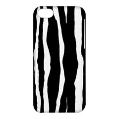 Zebra Background Pattern Apple Iphone 5c Hardshell Case by Amaryn4rt