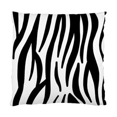 Seamless Zebra A Completely Zebra Skin Background Pattern Standard Cushion Case (one Side) by Amaryn4rt