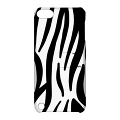 Seamless Zebra A Completely Zebra Skin Background Pattern Apple Ipod Touch 5 Hardshell Case With Stand by Amaryn4rt