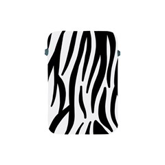 Seamless Zebra A Completely Zebra Skin Background Pattern Apple Ipad Mini Protective Soft Cases by Amaryn4rt
