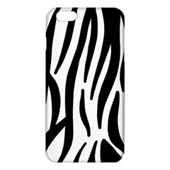 Seamless Zebra A Completely Zebra Skin Background Pattern Iphone 6 Plus/6s Plus Tpu Case