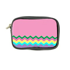 Easter Chevron Pattern Stripes Coin Purse by Amaryn4rt