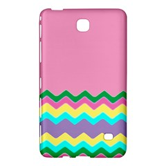 Easter Chevron Pattern Stripes Samsung Galaxy Tab 4 (7 ) Hardshell Case  by Amaryn4rt