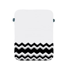 Chevrons Black Pattern Background Apple Ipad 2/3/4 Protective Soft Cases by Amaryn4rt