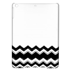Chevrons Black Pattern Background Ipad Air Hardshell Cases by Amaryn4rt