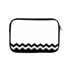 Chevrons Black Pattern Background Apple Macbook Pro 15  Zipper Case