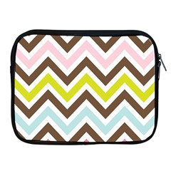 Chevrons Stripes Colors Background Apple Ipad 2/3/4 Zipper Cases by Amaryn4rt