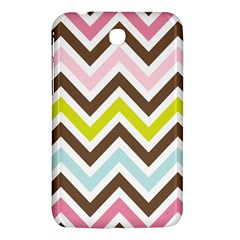Chevrons Stripes Colors Background Samsung Galaxy Tab 3 (7 ) P3200 Hardshell Case  by Amaryn4rt