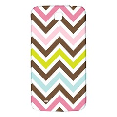 Chevrons Stripes Colors Background Samsung Galaxy Mega I9200 Hardshell Back Case by Amaryn4rt