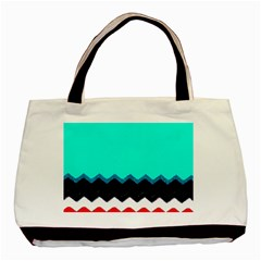 Pattern Digital Painting Lines Art Basic Tote Bag by Amaryn4rt