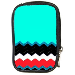 Pattern Digital Painting Lines Art Compact Camera Cases by Amaryn4rt