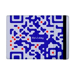 Digital Computer Graphic Qr Code Is Encrypted With The Inscription Ipad Mini 2 Flip Cases by Amaryn4rt