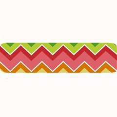 Colorful Background Of Chevrons Zigzag Pattern Large Bar Mats by Amaryn4rt
