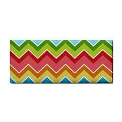 Colorful Background Of Chevrons Zigzag Pattern Cosmetic Storage Cases by Amaryn4rt