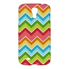 Colorful Background Of Chevrons Zigzag Pattern Samsung Galaxy S4 I9500/i9505 Hardshell Case by Amaryn4rt