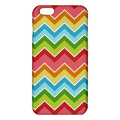 Colorful Background Of Chevrons Zigzag Pattern Iphone 6 Plus/6s Plus Tpu Case by Amaryn4rt