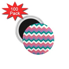 Chevron Pattern Colorful Art 1 75  Magnets (100 Pack)  by Amaryn4rt