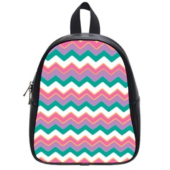 Chevron Pattern Colorful Art School Bags (small)  by Amaryn4rt