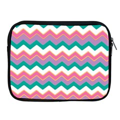 Chevron Pattern Colorful Art Apple Ipad 2/3/4 Zipper Cases by Amaryn4rt