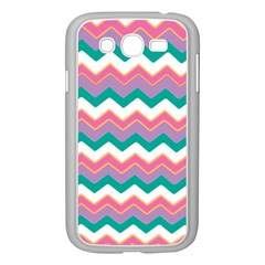 Chevron Pattern Colorful Art Samsung Galaxy Grand Duos I9082 Case (white) by Amaryn4rt