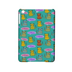 Meow Cat Pattern Ipad Mini 2 Hardshell Cases by Amaryn4rt