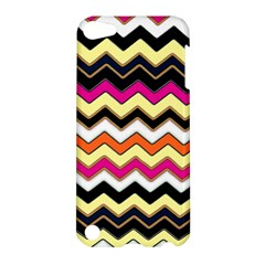 Colorful Chevron Pattern Stripes Apple Ipod Touch 5 Hardshell Case by Amaryn4rt