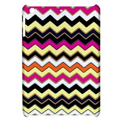Colorful Chevron Pattern Stripes Apple Ipad Mini Hardshell Case by Amaryn4rt